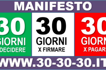 Digital-Hub sostiene il manifesto 30-30-30